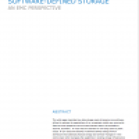 Realizing the Benefits of Software Defined Storage