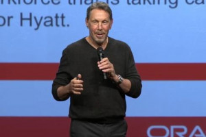 Oracle Reports Gains, But Rivals Grow Faster